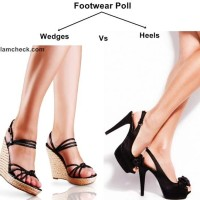 Footwear Poll - Fun Wedges or Sexy Heels
