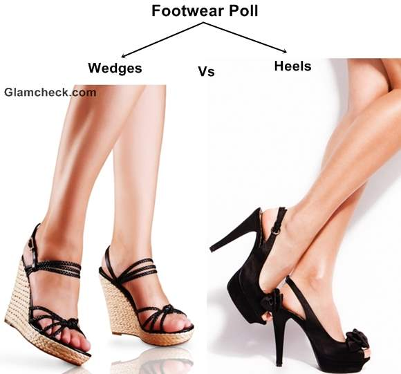 Footwear Poll - Fun Wedges or Sexy Heels