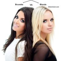 Hair Color Poll - Blonde vs Brunette