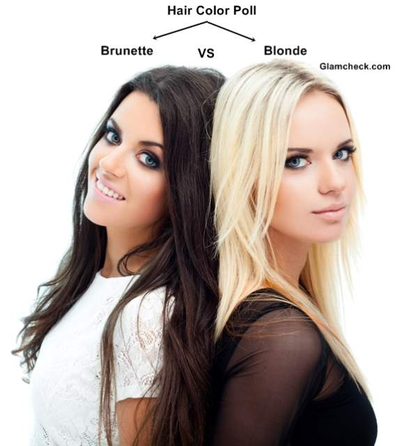f8871c34 Hair Color Poll - Blonde vs. Brunette