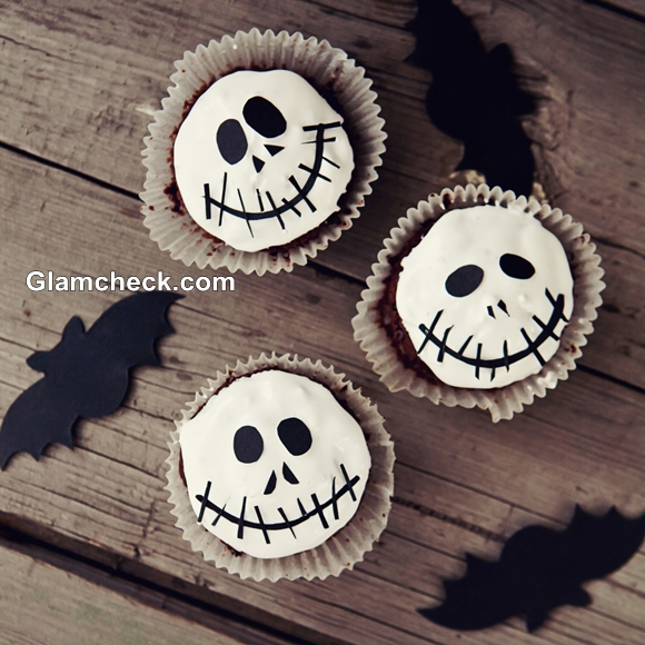 Halloween Cupcakes Ghost decoration