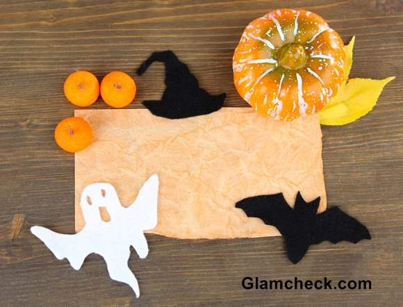 Halloween Party Decoration Table Set-up