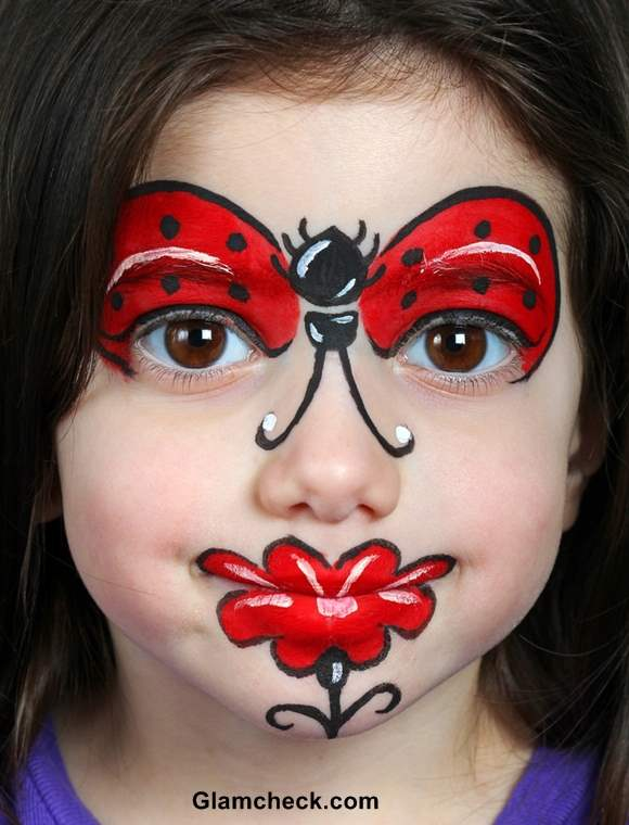 Halloween costume makeup for kids