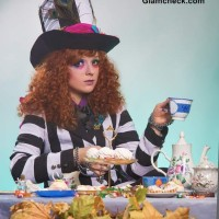 Hatter Look from Alice in Wonderland For Halloween