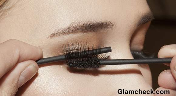 How to Fix False Eyelashes and Blend it with Natural Lashes with a Pencil and Mascara Brush