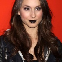 How to Sport Black Lipstick like Troian Bellisario