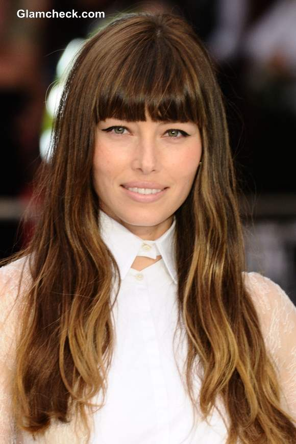 Celebrity Hair Color : Celebrity Hair Color  Jessica Biel Turns Ombre