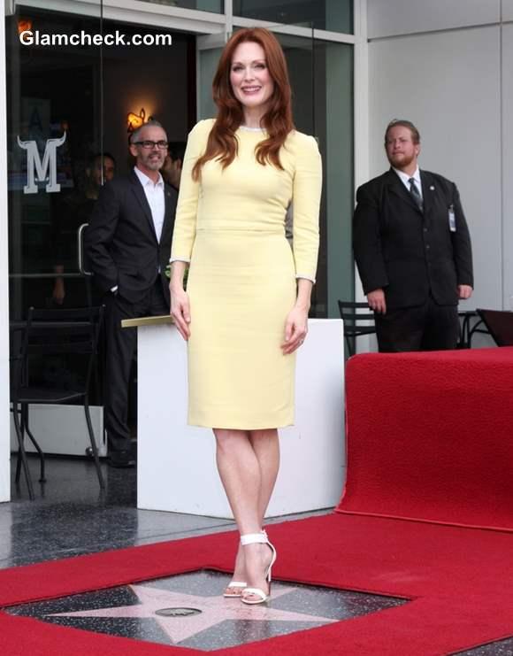 Julianne Moore Celebrates Star on Hollywood Walk of Fame