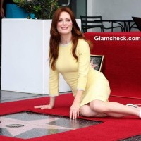 Julianne Moore Star on Hollywood Walk of Fame