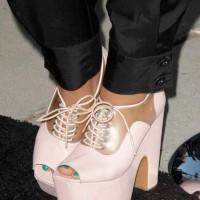 Lacy Platform Heels