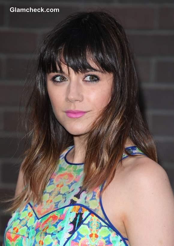 Lilah Parsons Ombre Hair Color