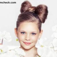 Little Girls Hairstyle - Cute Hair Bow Tutorial