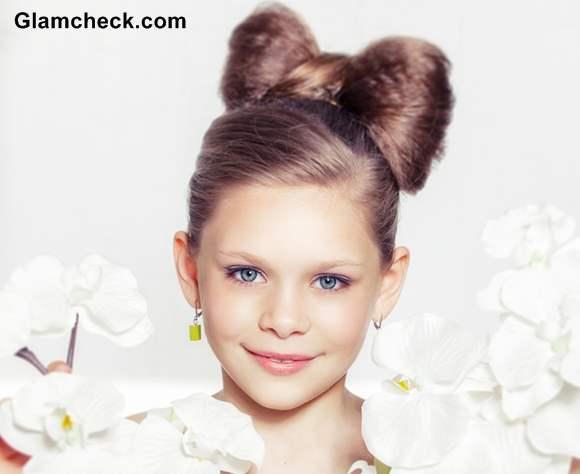 Enjoyable Girls Hairstyle Cute Hair Bow Short Hairstyles For Black Women Fulllsitofus