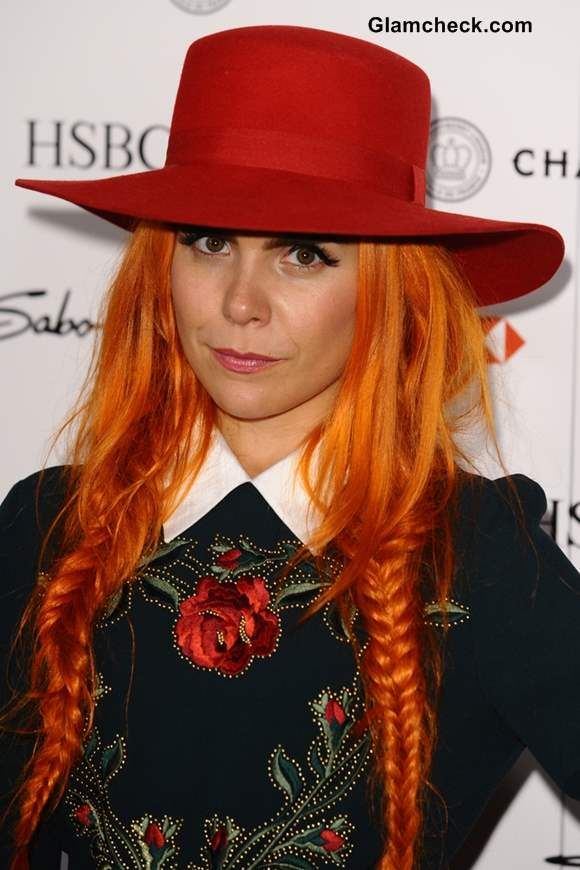 Paloma Faith Rocking Hair Color and Hairstyle