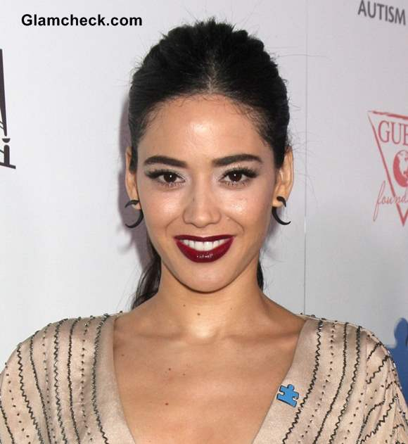 Plum Lips Edy Ganem Makeup 2013 at Blue Jean Ball