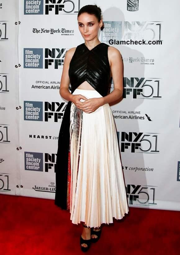 Rooney Mara in Proenza Schouler at Her Premiere