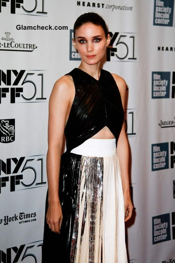 Rooney Mara in Proenza Schouler outfit at Her Premiere
