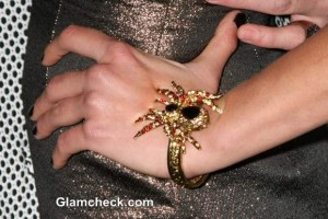 Scheana Marie Dons Spidery Bracelet to TV Show Parties