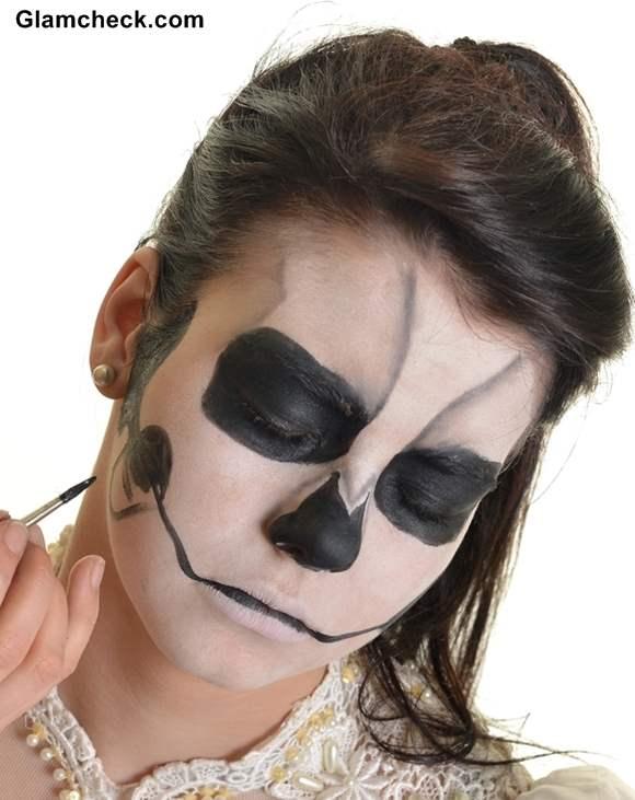Skull Face Makeup Halloween