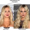 Who Sports Plum Lips Better - Kaley Cuoco or Ashlee Simpson