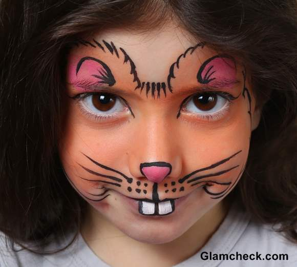 chipmunk Halloween makeup for kids