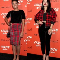 2 Cool Ways to Wear Cropped Tops with Plaid