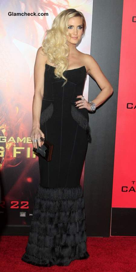 Ashlee Simpson at The Hunger Games Premiere