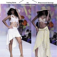 Beach Cover-ups - Trailing Skirts Vs Wrap-around Sarongs