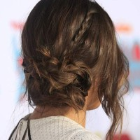 Chloe Bennet Sports Romantic Side-Swept Chignon to TeenNick HALO Awards