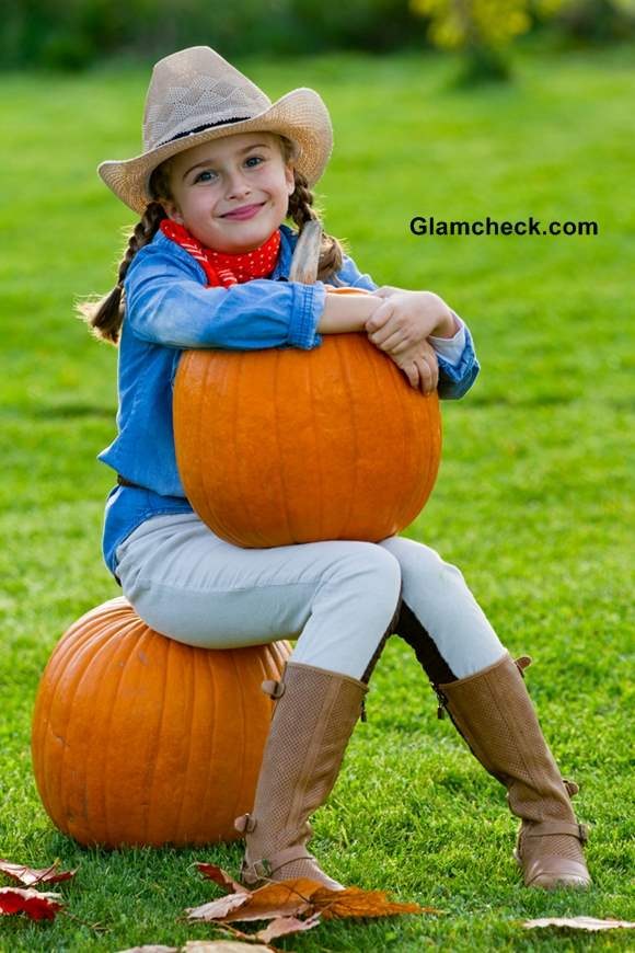 Little Girls Fashion - Cowgirl Look For Thanksgiving-6272