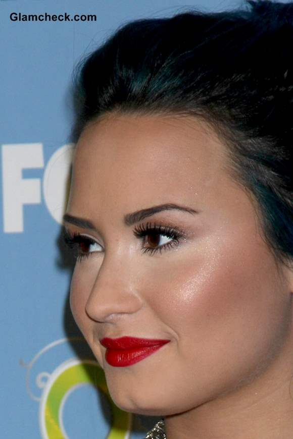 Demi Lovato Ravishing Other Worldly Hair Makeup