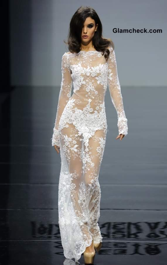 Fashion Pick- Lace Gown by Olesya Malinskaya