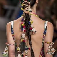 Fusion Hair Accessory – Indian Parandi Inspired Hair Tie