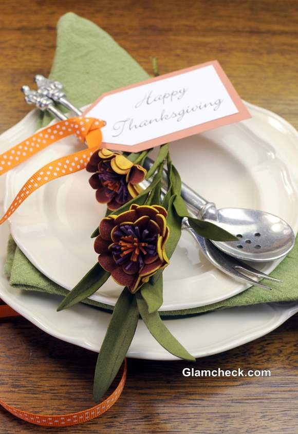 How to set Table for Thanksgiving Dinner