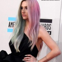 Icy Pastel Hair color shades Kesha