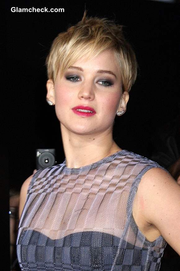 Jennifer Lawrence 2013 at The Hunger Games Catching Fire Premiere