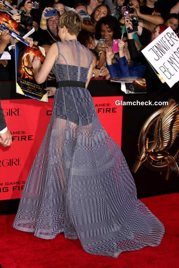 Jennifer Lawrence Pictures at The Hunger Games Catching Fire Premiere