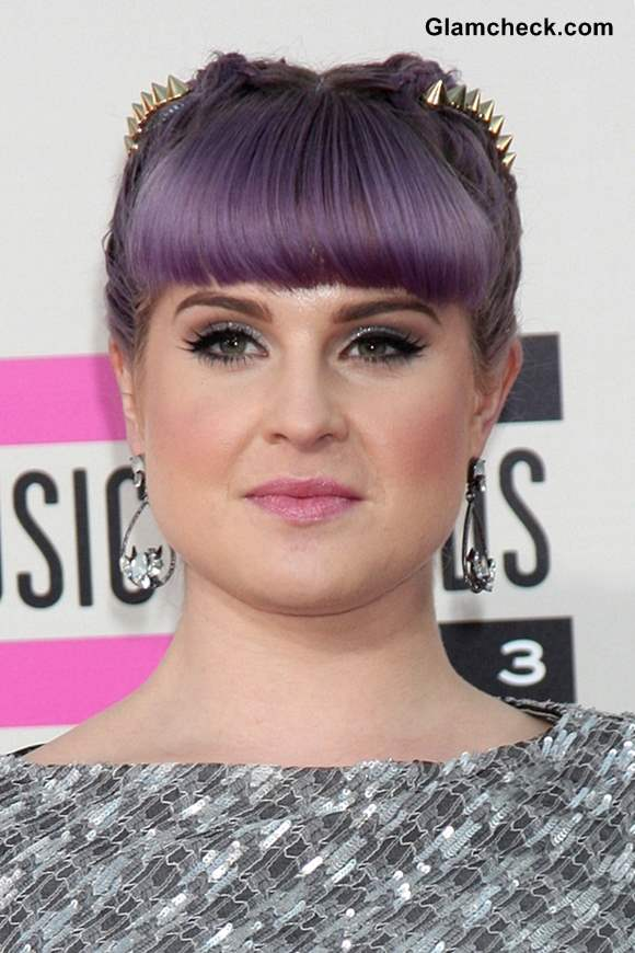 Braided Studded And Dyed Kelly Osbourne S Hair Works