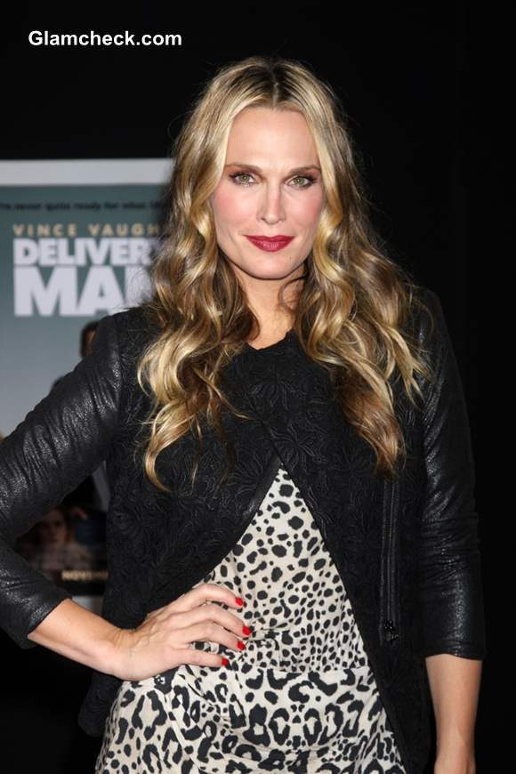 Molly Sims at the Delivery Man World Premiere