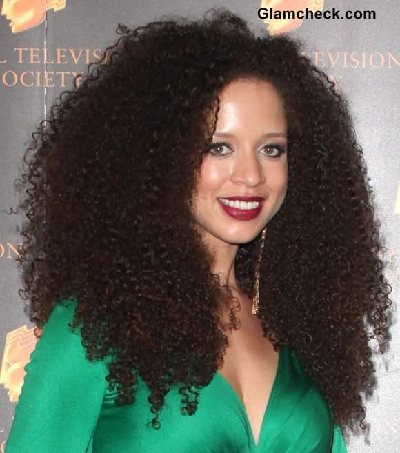 Natalie Gumede Kinky Hair Curls