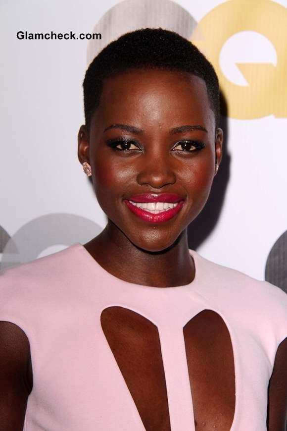 Neckline Inspiration - Lupita Nyongo Cushnie et Ochs Cutout Sheath Dress