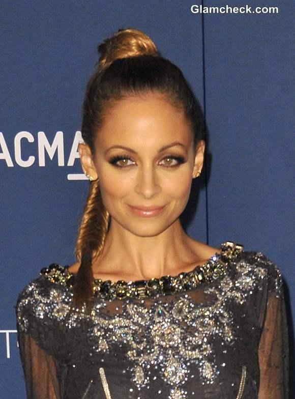 Nicole Richie Hairstyle at LACMA Gala 2013