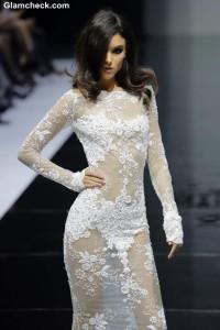 White Lace Gown – Fashion Pick