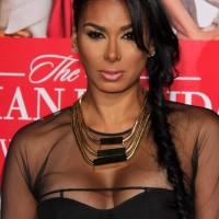 Sheer outfit Laura Govan at The Best Man Holiday Premiere