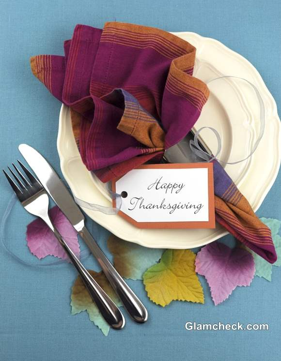 Thanksgiving ideas How to Set Table for Dinner