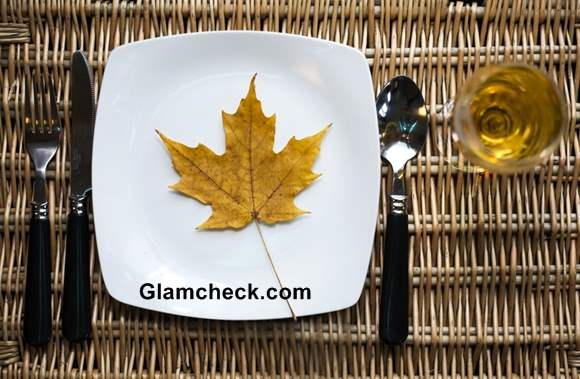 Thanksgiving ideas How to Set Table