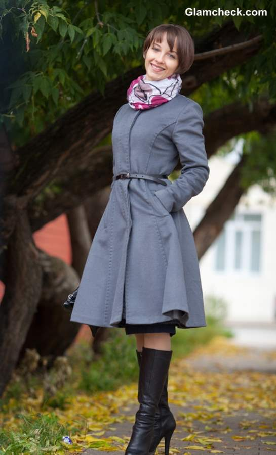Winter Fashion tips- How to style Trench Coats with Scarves