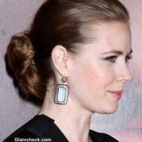 Amy Adams Bun Hairstyle at Her LA Premiere