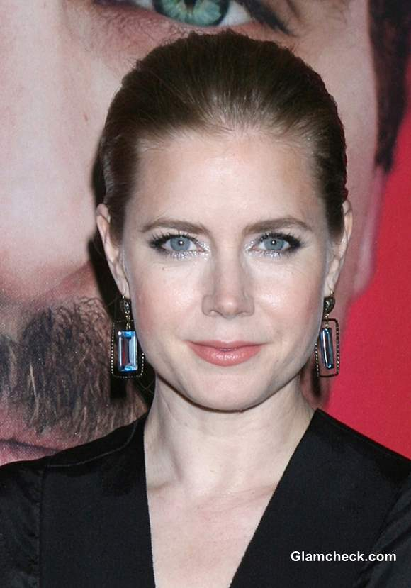 Amy Adams Bun Hairstyle at Her Premiere