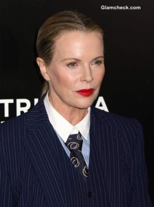 """Kim Basinger in Ultra Tailored Androgynous Look at """"Grudge Match"""" Premiere"""